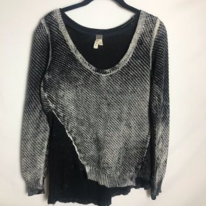 Free People We The Free multiple fabric sweater